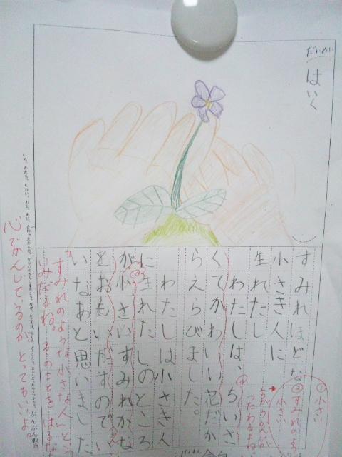 ★俳句の絵を描く  作文